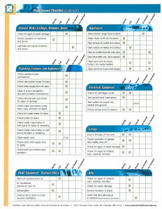 healthy-home-maintenance-checklist